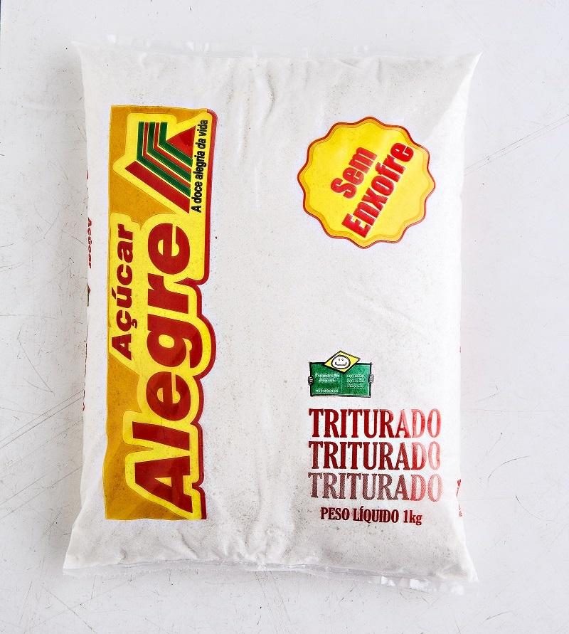 Açúcar Alegre Triturado