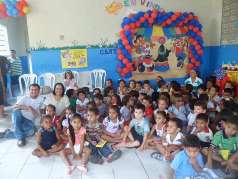 Festa para as crianças do Açúcar Alegre