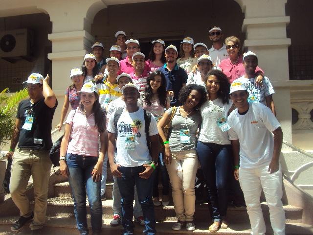 O Açúcar Alegre recebe estudantes de várias regiões do Brasil