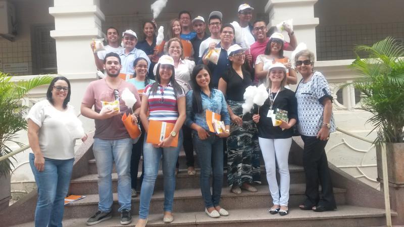 Alunos da Faculdade Internacional da Paraíba visitam o Açúcar Alegre