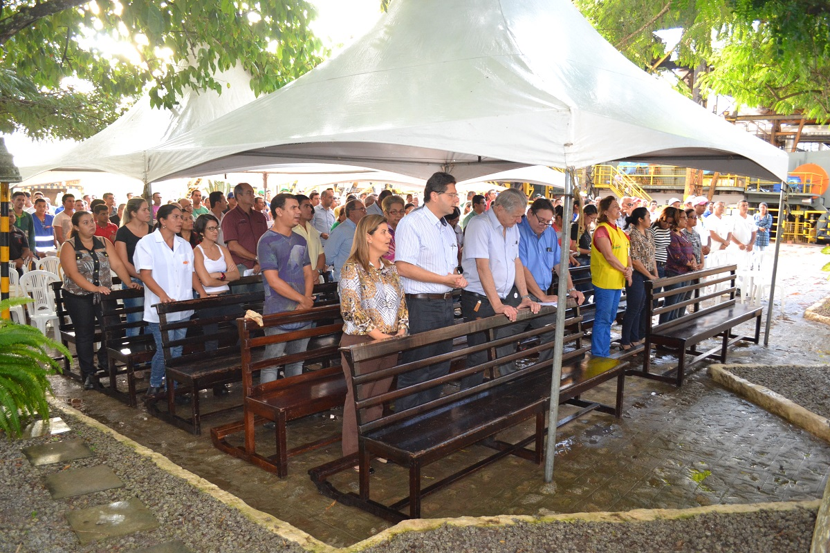 Missa em Ação de Graças marca início da safra 2015/2016 no Açúcar Alegre