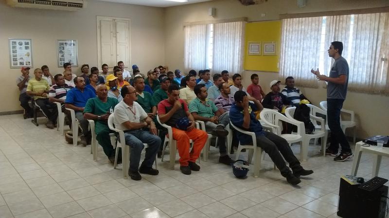 Colaboradores do Açúcar Alegre participam da Semana Nacional do Trânsito