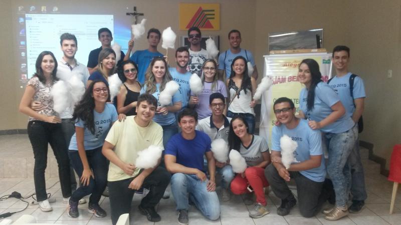 Estudantes visitam a Monte Alegre
