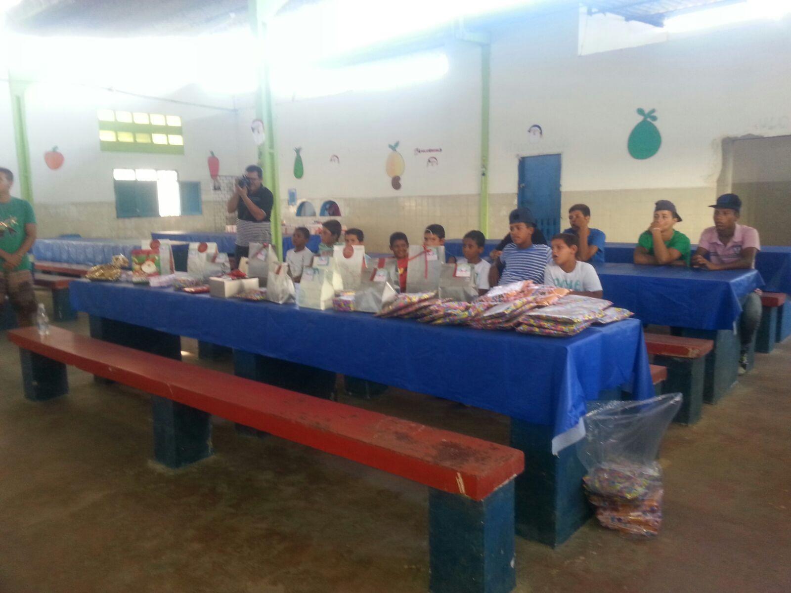 Voluntariado do Açúcar Alegre em Ação