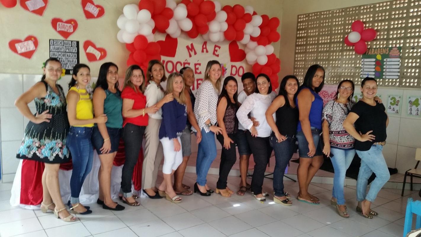 O Açúcar Alegre comemora o dia das mães na Creche Maria do Livramento