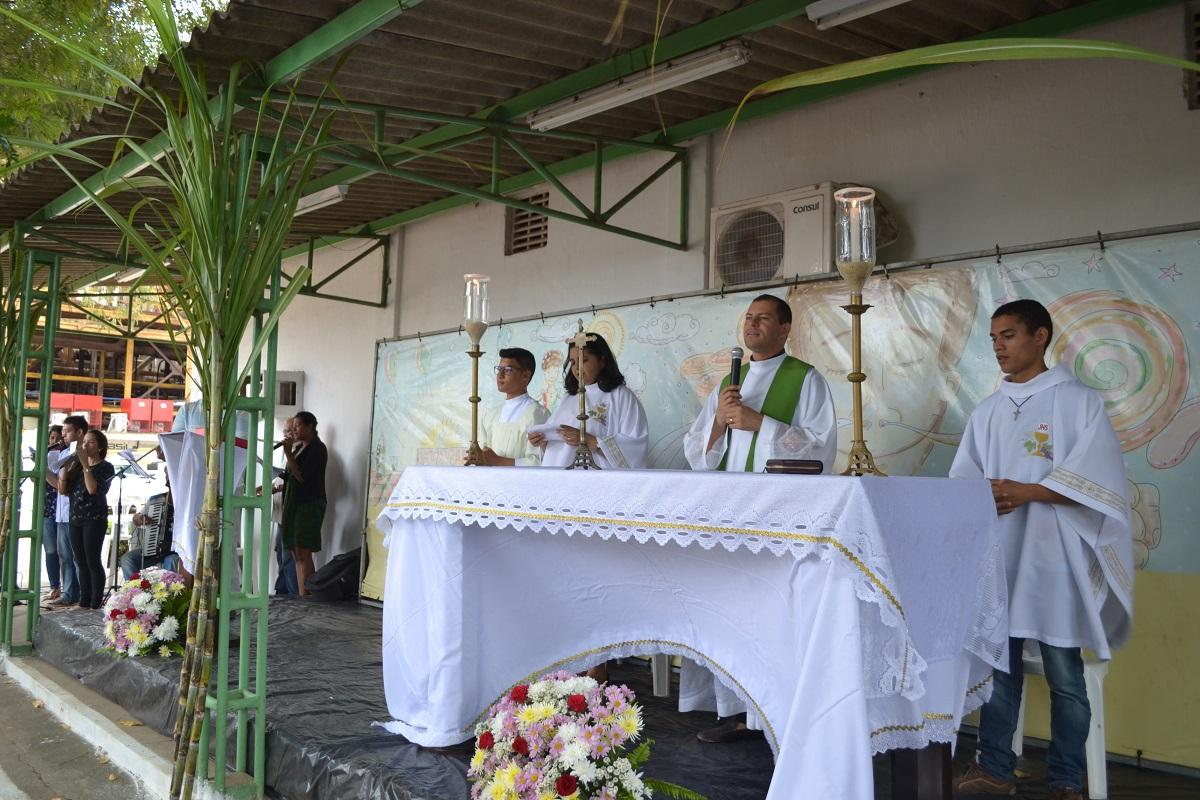 Cerimônia religiosa marca início da safra 2016/2017 no Açúcar Alegre