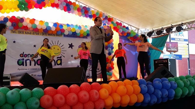 Açúcar Alegre e Mc Dia Feliz: uma parceria solidária