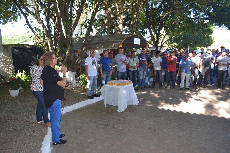 Dia do Trabalho é comemorado no Açúcar Alegre