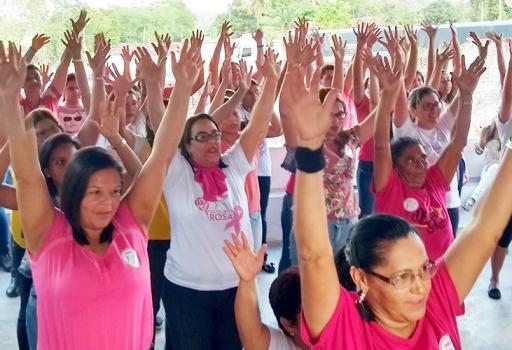 Campanha do Outubro Rosa Usina Monte Alegre