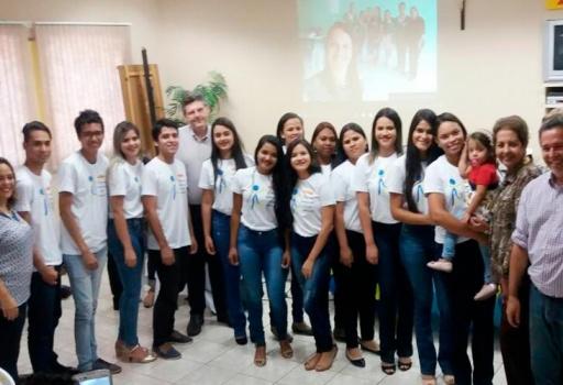 Comemoração no Açúcar Alegre marca Encerramento do Programa Jovem Aprendiz 2017