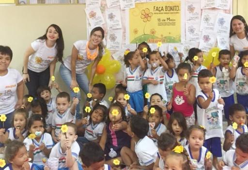 O Açúcar Alegre engajado na campanha de Combate ao Abuso e Exploração Sexual de Crianças e Adolescentes