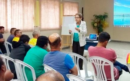 O Açúcar Alegre no período do apontamento vem realizando palestras educativas para seus colaboradores