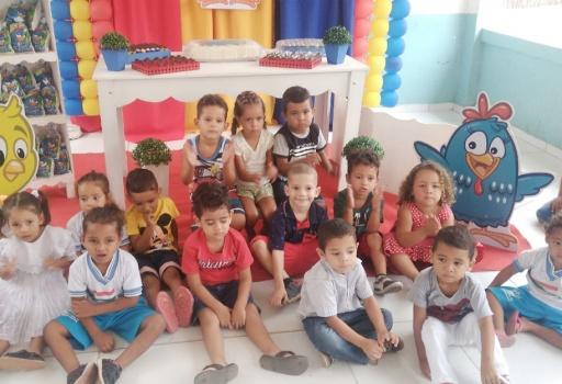 O Açúcar Alegre adoça a vida da meninada em festividades do dia da criança