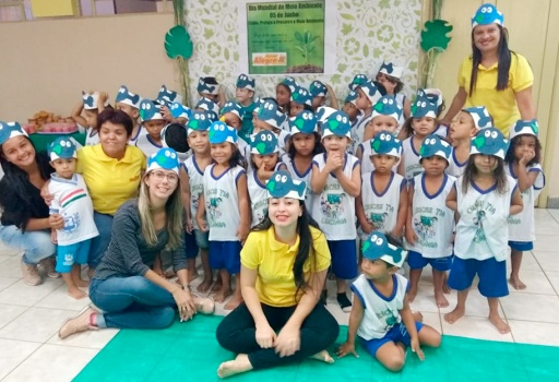 O Açúcar Alegre comemora a Semana do Meio Ambiente