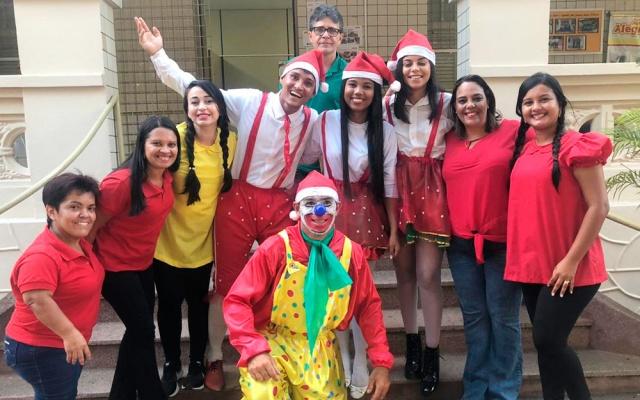Comemoração Natalina no Açúcar Alegre para os Filhos dos Colaboradores