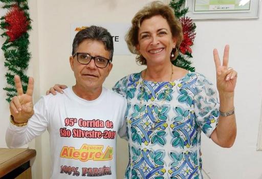 Maratonista da São Silvestre 2019 é colaborador do Açúcar Alegre