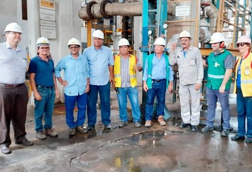 Colaboradores do Açúcar Alegre comemoram final da Safra 2019/2020